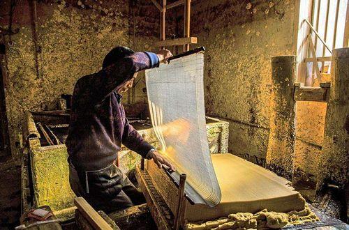 民间造纸工艺